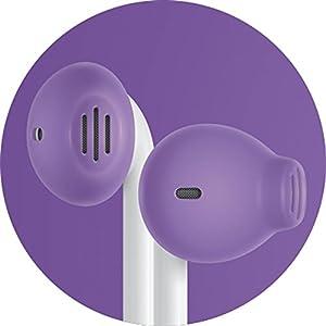 Amazon.com: EarSkinz EarPod Covers (ES2) - Purple - for