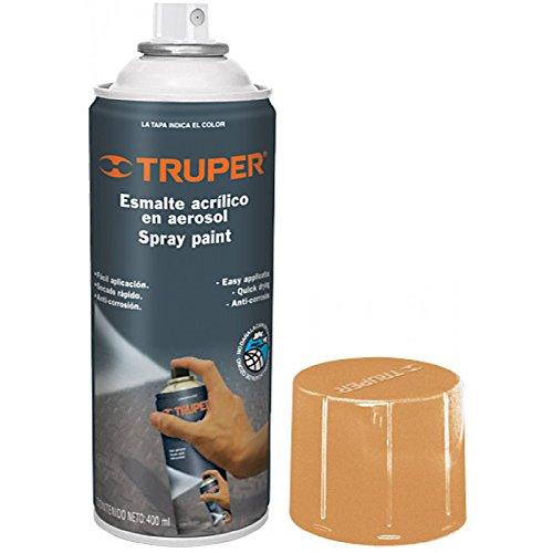 Truper PA-NA, Pintura en Aerosol, Color Naranja, 400 ml