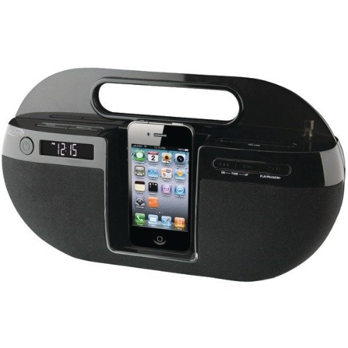 SleuthGear iPod Dock QUAD LCD