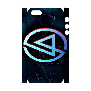iphone5 5S 3D Cell Phone Case White Linkin Park Plastic Durable Cover Cases derf6982977