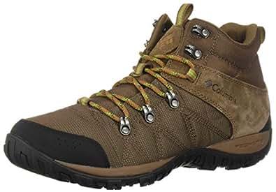 Columbia Men's Peakfreak Venture Boot , Dark Brown, Clean Green, 7 Regular US