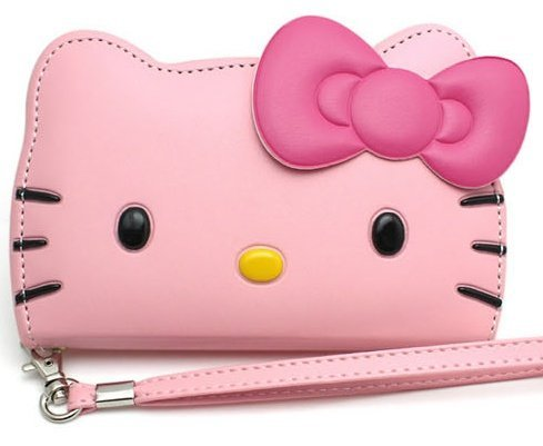 Hello Kitty 3D Wallet Case for Samsung Galaxy Note 3 3G-24K