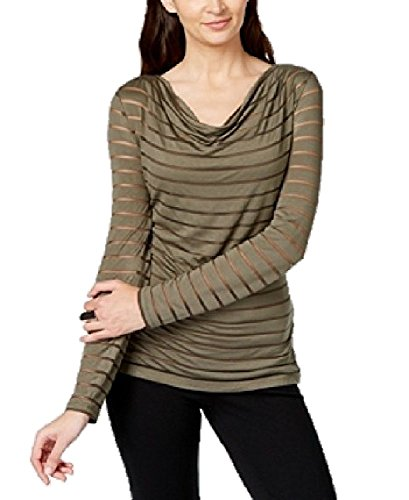 INC International Concepts Petite Cowl-Neck Illusion Top (0-2 Petite) (Inc Concepts Clothing compare prices)