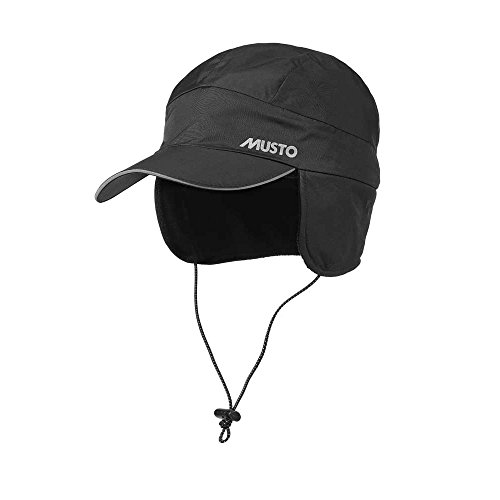 Musto Waterproof Fleece Lined Cap Windproof and Breathable (Foul Weather Hats)