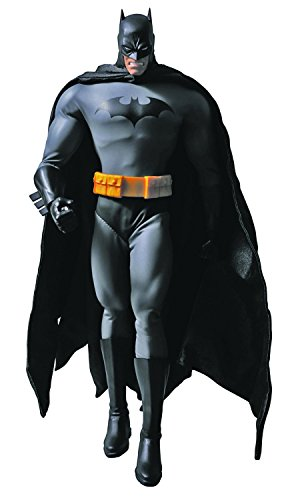[Medicom Batman Hush Black Suit Version Batman Real Hero Action Figure] (Adult Black Suit Superman Costumes)