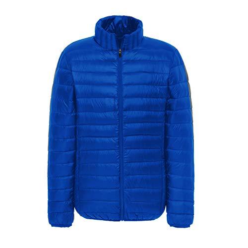 Outerwear Quilted Packable Lightweight Padded Men's Blue Treasure SUNDAYROSE Jacket Puffer 1Xfq01Tn