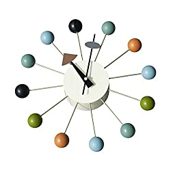 Design Tree Home George Nelson Inspired Ball Clock