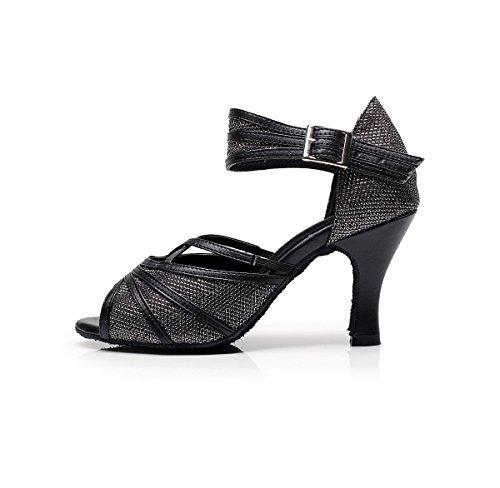 de bal Miyoopark femme Salle Heel 8cm Black E5qqaWg4O