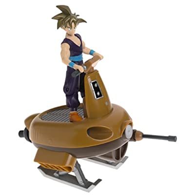"""DragonBall Z Jet Momonga Vehicle with 5"""" S.S. Gohan Action Figure (2001 Irwin): Toys & Games"""