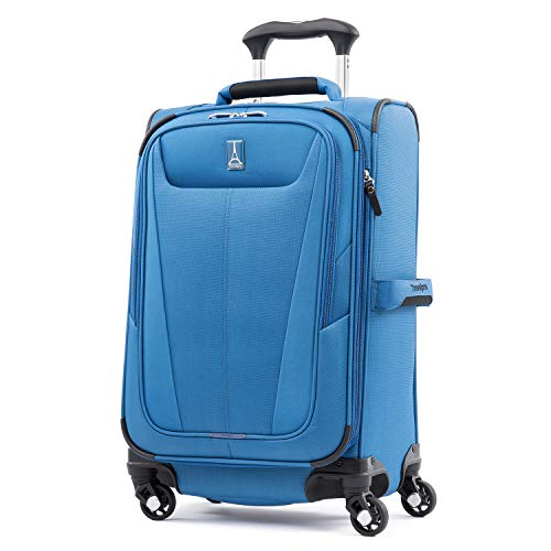 (Travelpro Luggage Maxlite 5 Lightweight Expandable Suitcase , Azure Blue)