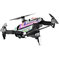 MightySkins Skin for DJI Mavic Air Drone - Colorful Chevron | Min Coverage Protective, Durable, and Unique Vinyl Decal wrap cover | Easy To Apply, Remove, and Change Styles | Made in the USA