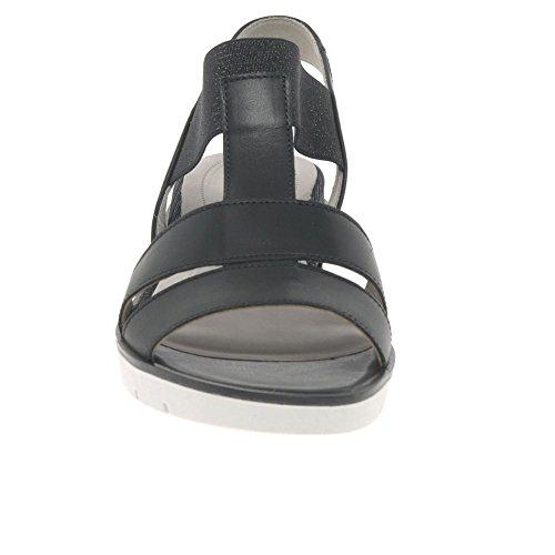 Gabor Shoes Damen Basic Riemchensandalen, Schwarz (Schwarz), 41 EU