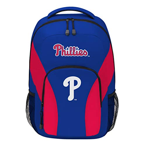 (The Northwest Company MLB Philadelphia Phillies DraftDay Backpack, 18-Inch, Red)