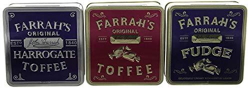 (Farrah's of Harrogate Flat Tin Gift Pack 300 g)