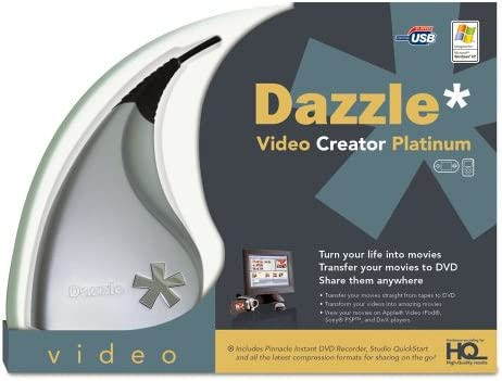 Dazzle Video Creator Platinum [OLD VERSION] 41PQ96B778L