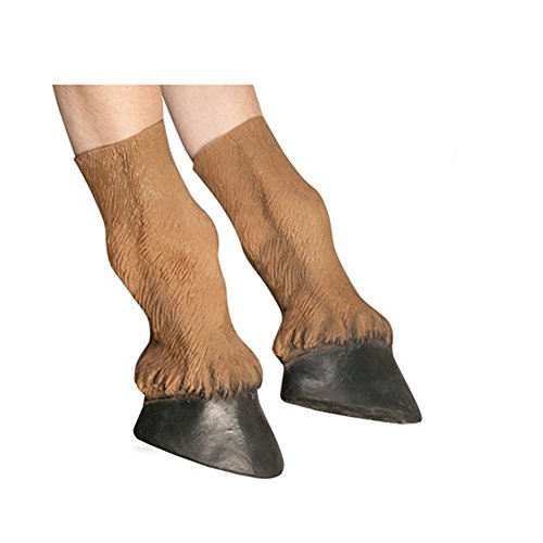 [GoLoveY Latex Horse Hooves Gloves] (Horse Hoof Shoes Costume)