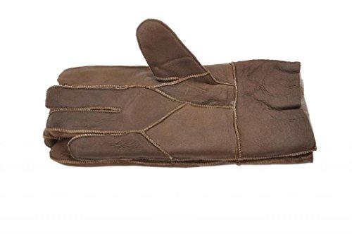 Tanforan Cypress Men's Winter Sheepskin Lambskin Gloves M - Outlet Cypress