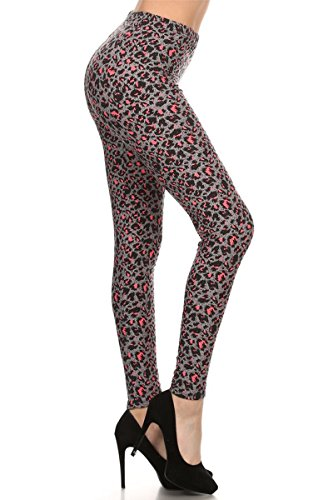 Leggings Depot N533-Plus The Wild One Plus Size (L-2X / Size 12-20) (Best Looks With Leggings)