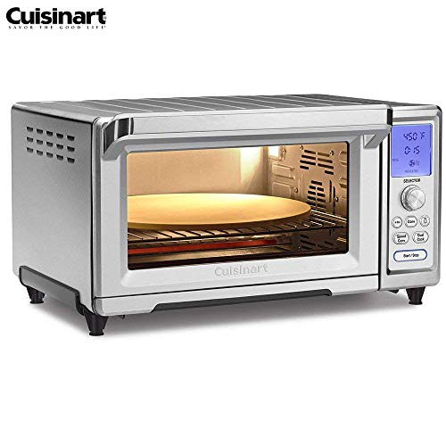 Cuisinart TOB-260N Chefs Convection Toaster Oven, Stainless Steel Renewed