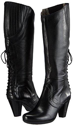 black Negro Alto De 100 Marc Caño Botas Mujer Schwarz Shoeselle w6vq814