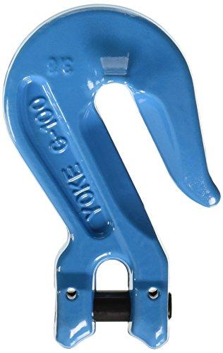 Hook One Clevis - YOKE X-042-10 G-100 Clevis Grab Hook, 3/8