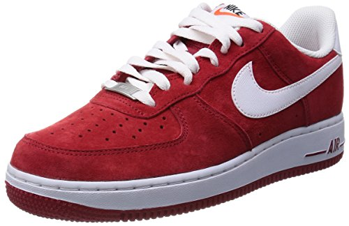 Nike Air Force 1 - Gym Red / White, 9.5 D US