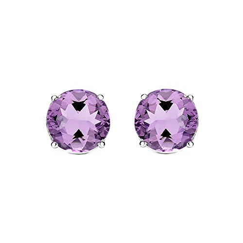 Cate & Chloe 2Ct. Beyonce Stud Earrings, Crystal Earrings, Gemstone Earrings, Stud Jewelry, Statement Jewelry, Best Earrings for Women, Teens, Girls ()