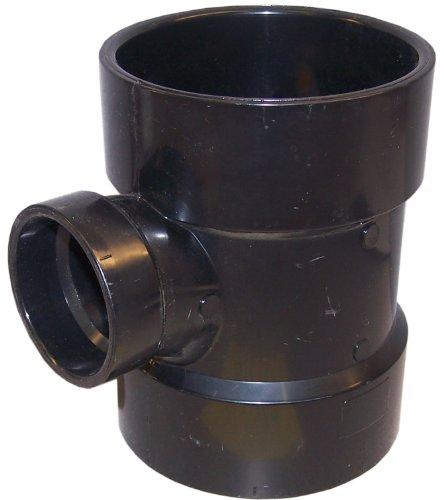 Genova Products 81142 ABS Reducing Sanitary Tee, 4