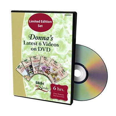 Donna Dewberry Latest 6 One Stroke Videos on DVD ()