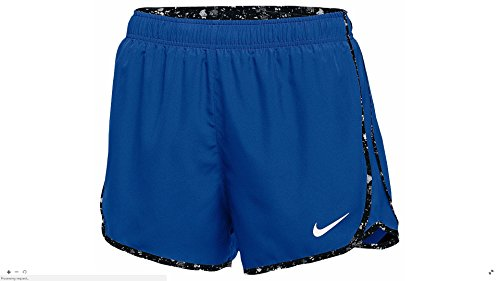 Womens Nike Dry Tempo Shorts Royal/White Size Large