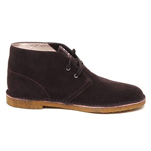 E0602 SUN Uomo Suede Shoe Marrone Polacchino Man Boot Scarpa 68 Brown 5qrqRxAwP
