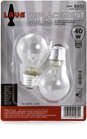 25 watt bulb for lava lamp