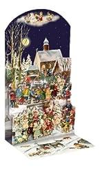 Weihnachtsdorf - Pop-up-Adventskalender: Zum Austellen