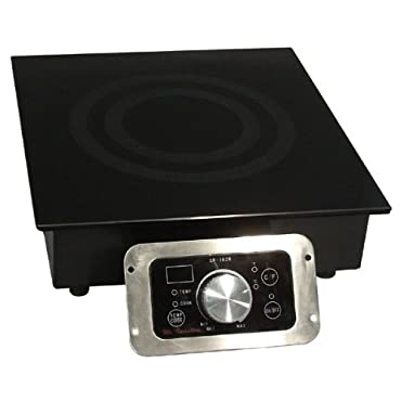 Mr. Induction SR-652R Built-In Commercial Range Induction Burner, 2700-watt by Sunpentown