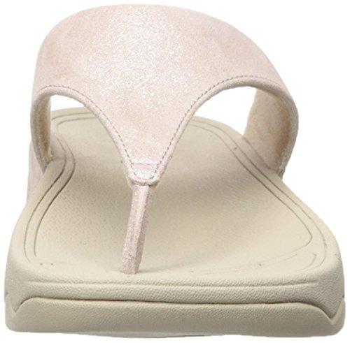 Fitflop Lulu Shimmersuede Kvinders Sandaler Lyserød (nøgen 137) ZbBQWr
