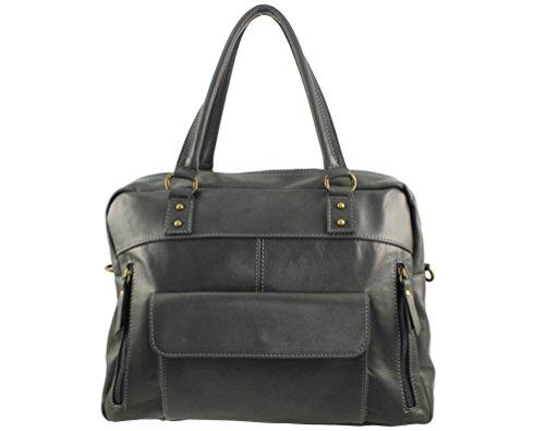 grand sac main sac cuir cuir à genny sac Plusieurs femme Genny sac www sac Sac Foncé cuir italie Gris cuir cuir sac Italie Coloris cuir sac aF5OMqw