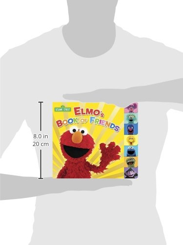 Elmos Book of Friends (Sesame Street) (Sesame Street (Random House))