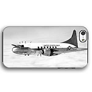 US Navy C131 Corvair Plane iPhone 5 and iPhone 5s Armor Phone Case