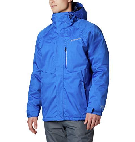 Columbia Standard Men's Alpine Action Winter Jacket, Waterproof & Breathable, Azul, Large