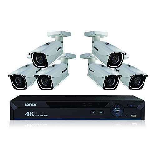 Lorex 4K Ultra HD Wired Network Security System with Color Night Vision
