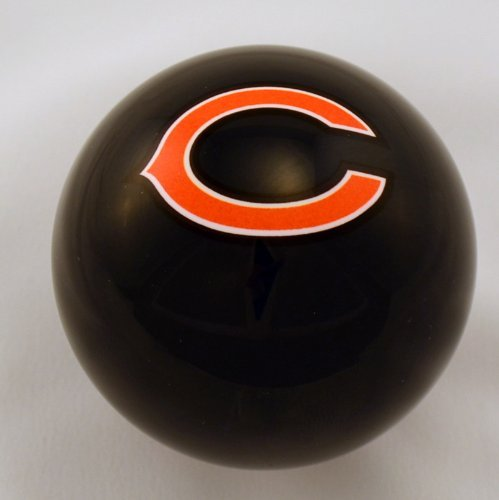 NFL Chicago Bears Official Licensed Blue Billiard Pool Table Cue Ball / 8 Ball