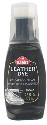Kiwi Leather Dye, 2.5 fl oz, Black, 3-Pack