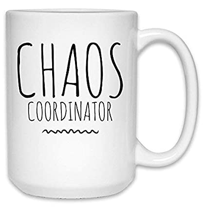 Amazon Funny Chaos Coordinator Mug Stay At Home Mom Mothers Day