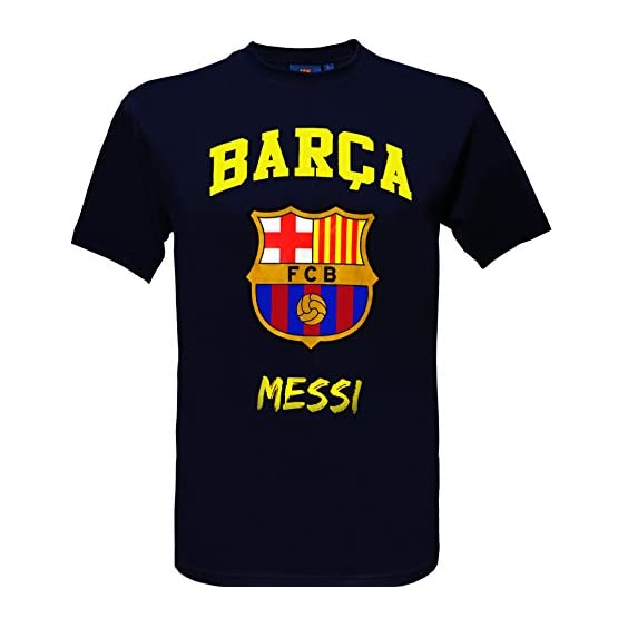 Fc Barcelone T-Shirt Lionel Messi - N°10 - Barça - Collection Officielle Taille Adulte Homme