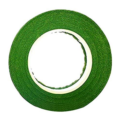 [해외]ZAYAR 인조 테이프 리본 테이프 폭 12mm× 길이 27m (그린) / ZAYAR Artificial Flower Tape Flora Tape Width 12mm x Length 27m (Green)