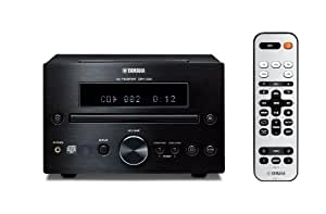 Yamaha CRX-332BL Micro Component Receiver (Black)