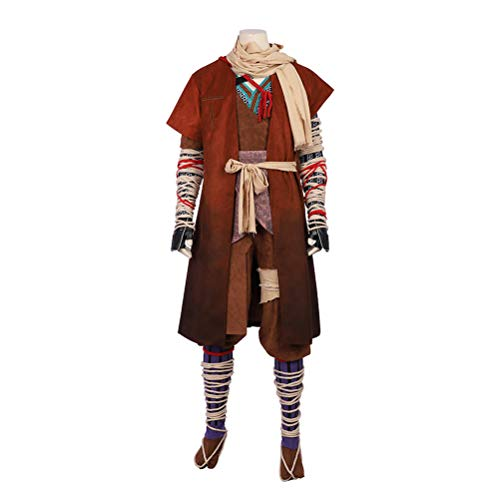 CosplayJet Men's Cosplay Costume for Shadows Die Twice SEKIRO Full Body Suits Outfit -