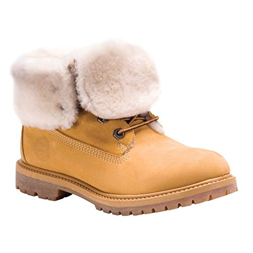 Stivali Donna Shearling Down Authentics Timberland Marrone Fold Boot cBO1qwpw