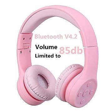 Hisonic Auriculares Bluetooth Compatible con Todos Dispositivos Bluetooth (Rosa 01): Amazon.es: Electrónica