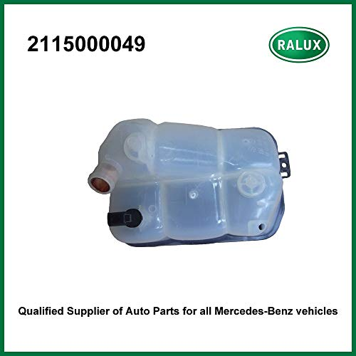- Cocas 2115000049 car Radiator Expansion Tank for Benz coolant Overflow Container autoengine Cooling System Part aftermarket